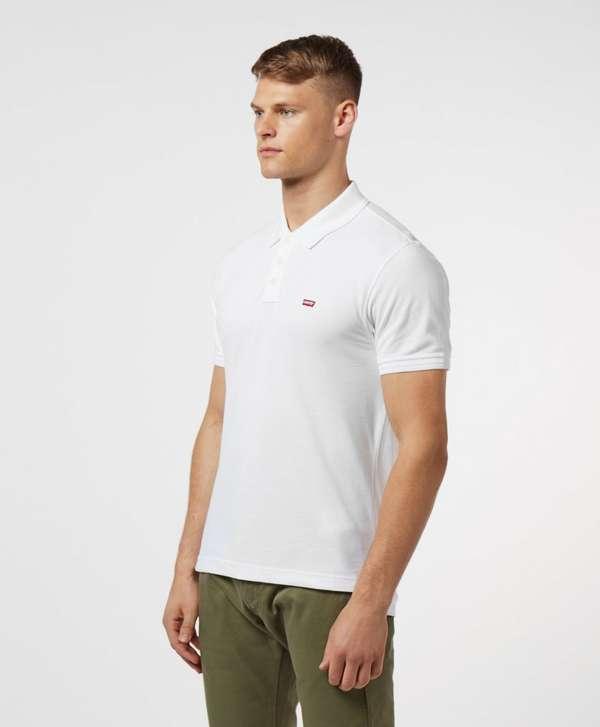 Levis Housemark Logo Short Sleeve Polo Shirt