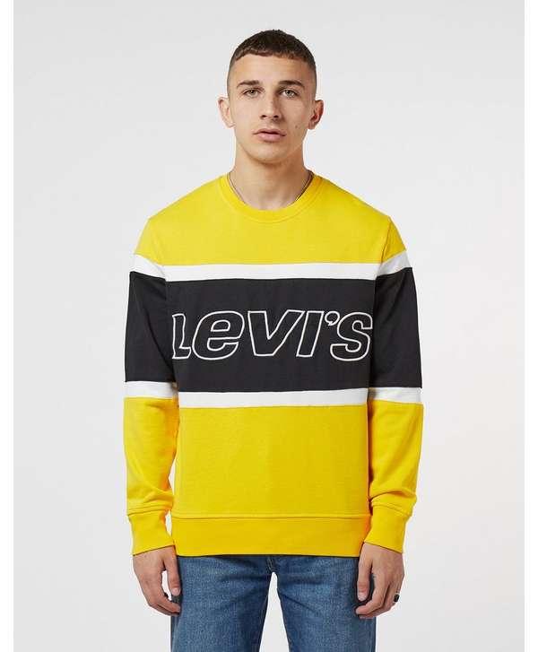 Levis Colour Block Sweatshirt