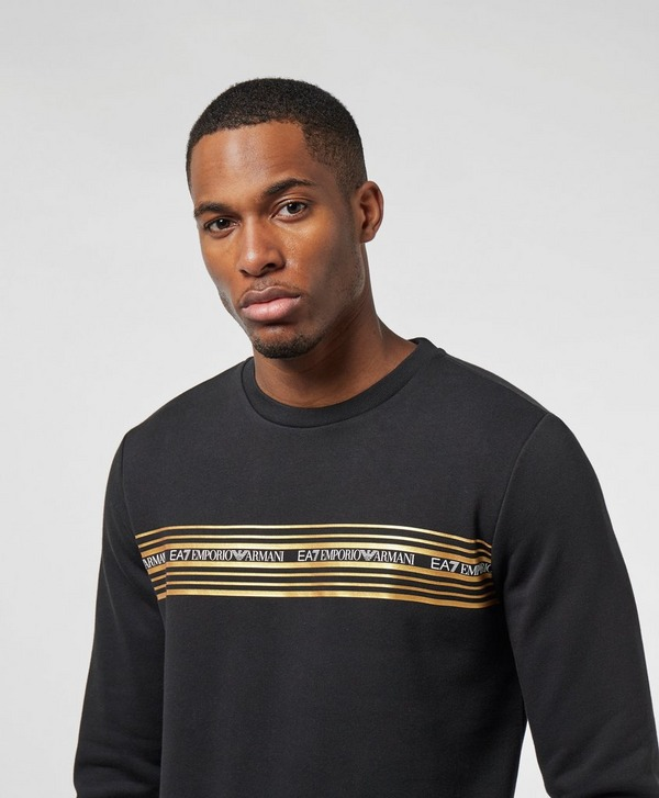 Emporio Armani EA7 Gold Band Sweatshirt