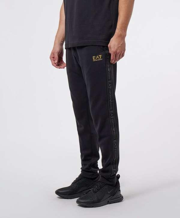 Emporio Armani EA7 Tape Cuffed Fleece Pants