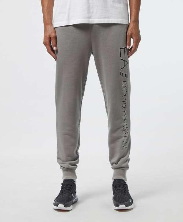 Emporio Armani EA7 Logo Cuffed Fleece Pants
