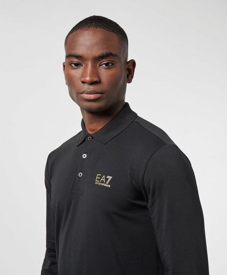 Emporio Armani EA7 Core Long Sleeve Polo Shirt