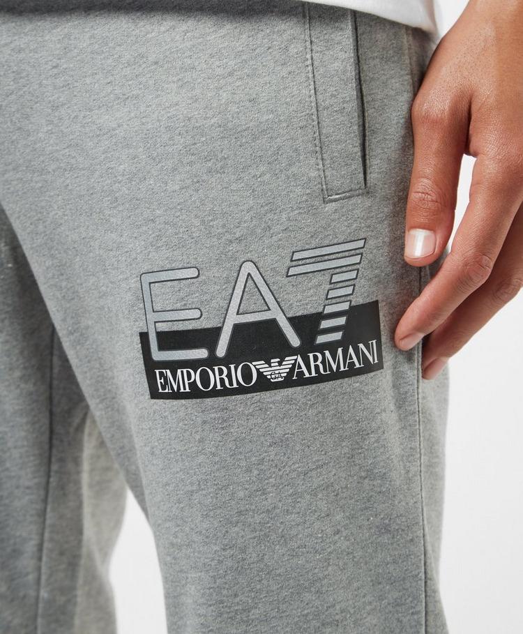 Emporio Armani EA7 Vis Logo Cuffed Fleece Pants