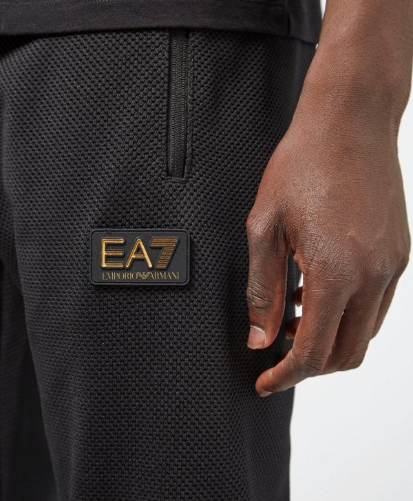 Emporio Armani EA7 Heavy Pique Cuffed Fleece Pants