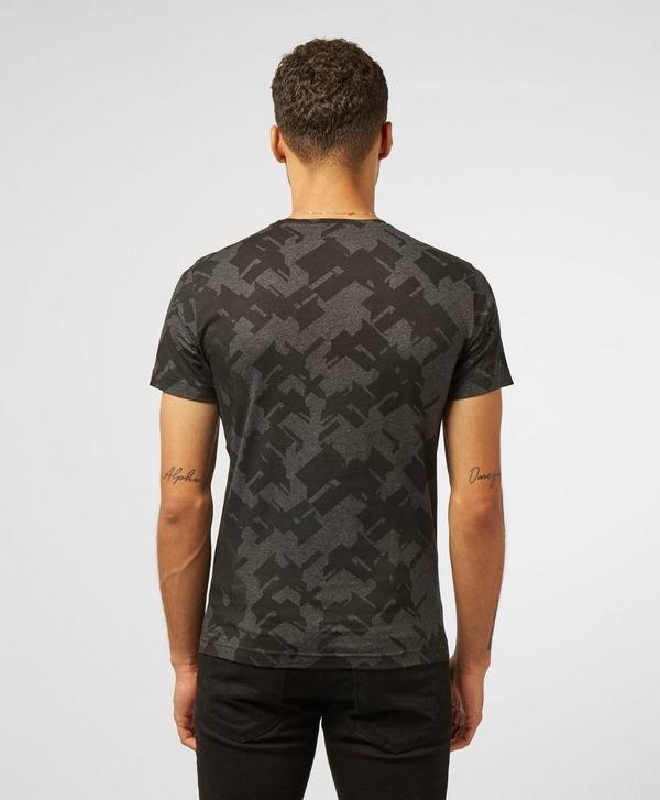 Emporio Armani EA7 All Over Camo Short Sleeve T-Shirt