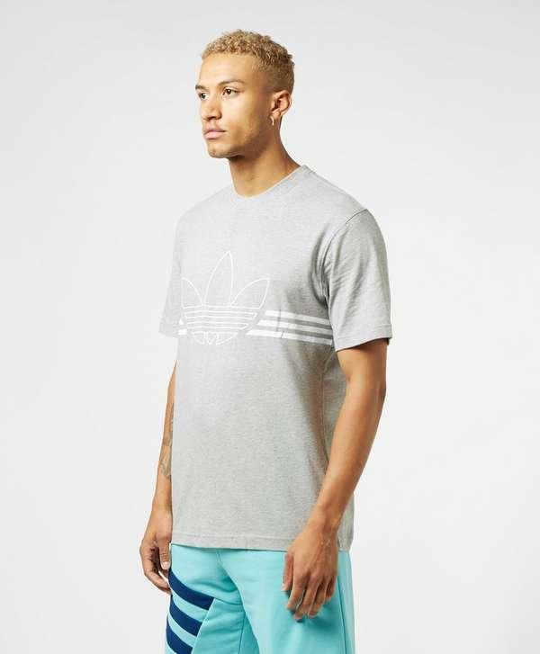 adidas Originals Outline Trefoil Short Sleeve T-Shirt