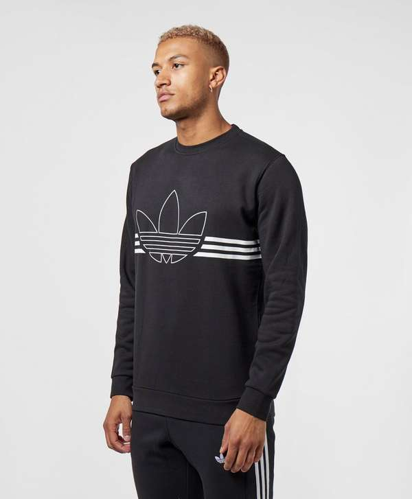 adidas Originals Outline Trefoil Sweatshirt