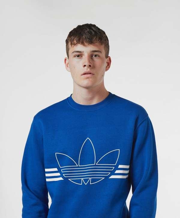 adidas Originals Outline Logo Sweatshirt
