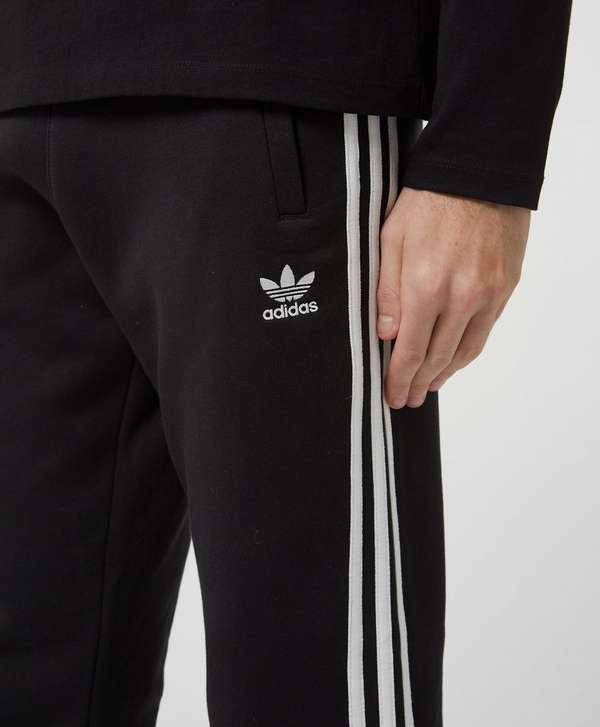 adidas Originals 3-Stripes Cuffed Fleece Pants