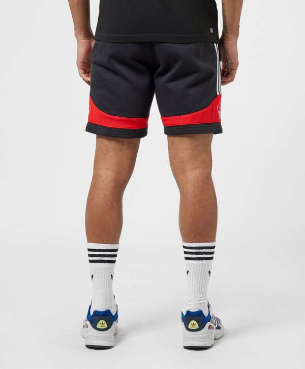 adidas Originals 3-Stripe Trefoil Fleece Shorts
