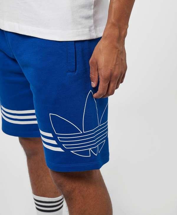 adidas Originals Outline Trefoil Fleece Shorts