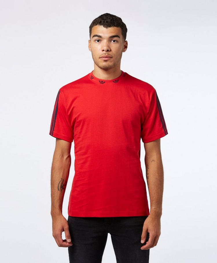 adidas Originals Trefoil Rib Short Sleeve T-Shirt