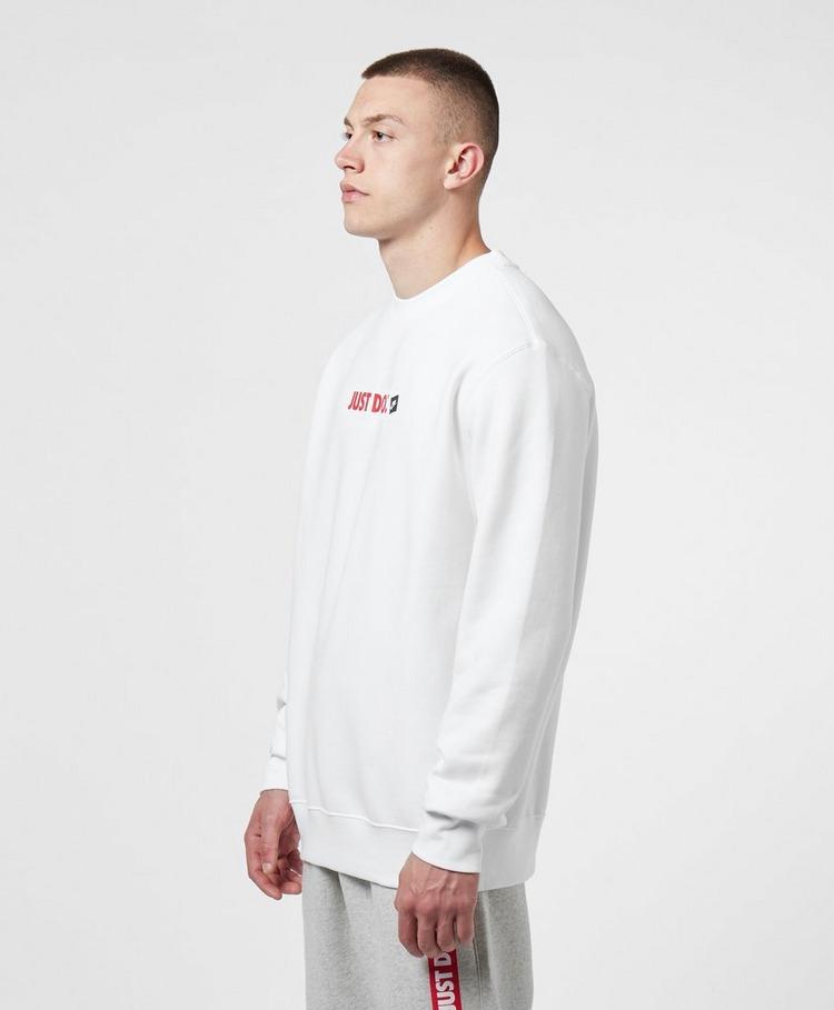 Nike Just Do It Box Logo Crew Sweatshirt