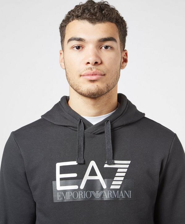 Emporio Armani EA7 Vis Logo Overhead Fleece Hoodie