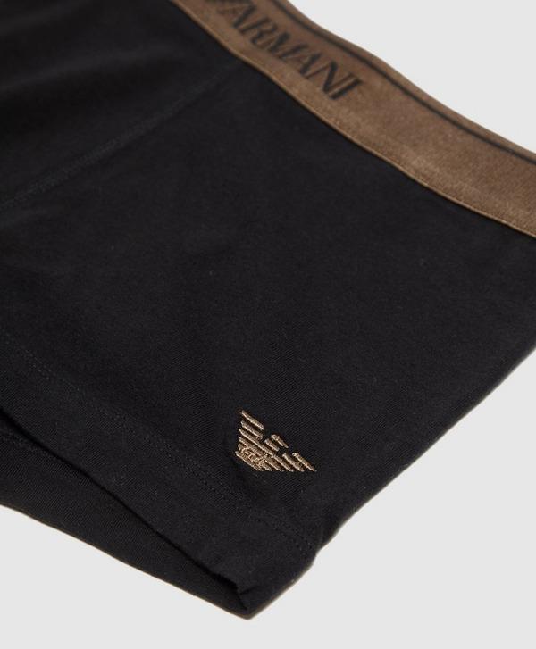Emporio Armani Embroidered Eagle Boxer Shorts