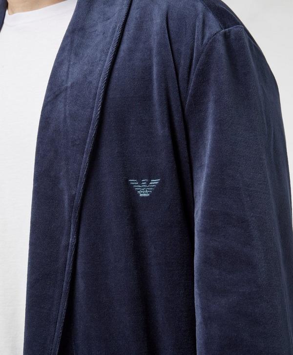 Emporio Armani Velour Dressing Gown