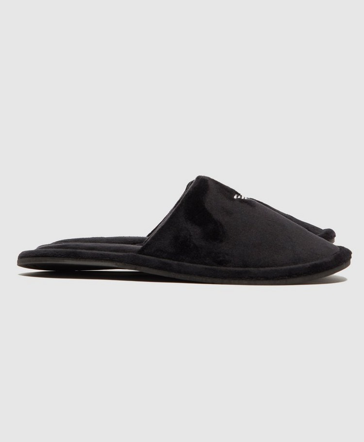 Emporio Armani Velour Slippers