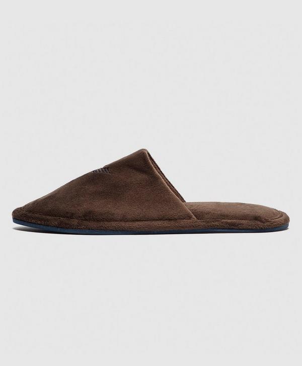 Emporio Armani Loungewear Velour Slippers
