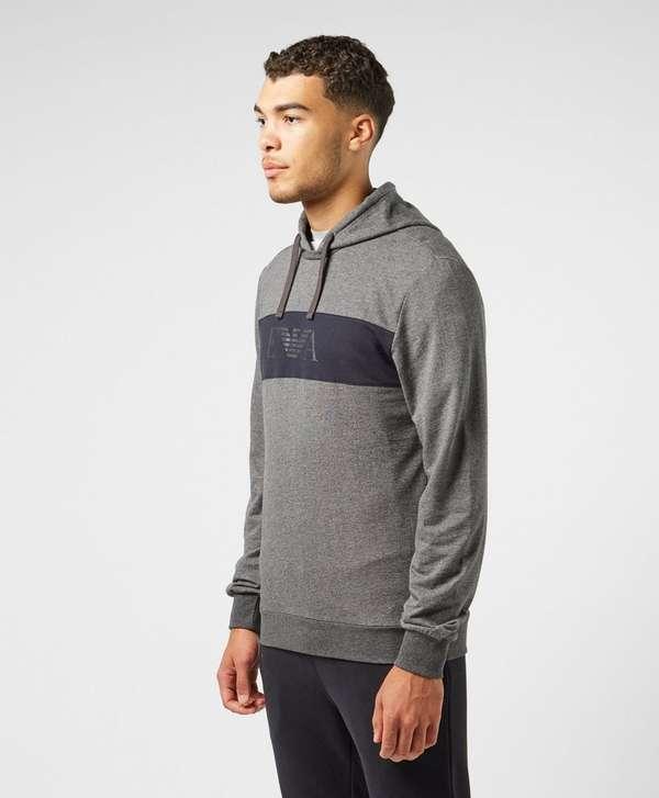 723c690d Emporio Armani Panel Overhead Hoodie | scotts Menswear