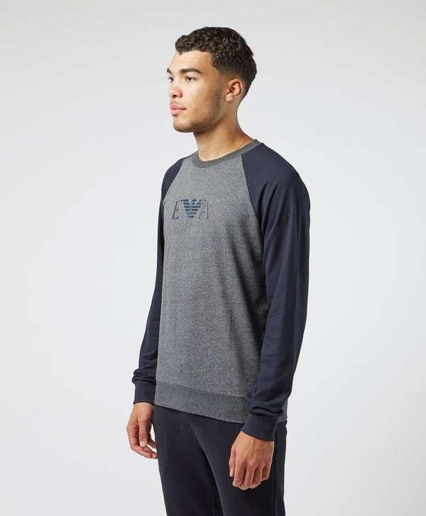 Emporio Armani Raglan Crew Sweatshirt