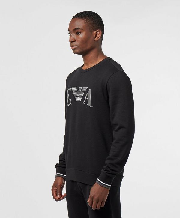 Emporio Armani Loungewear Embossed Logo Sweatshirt