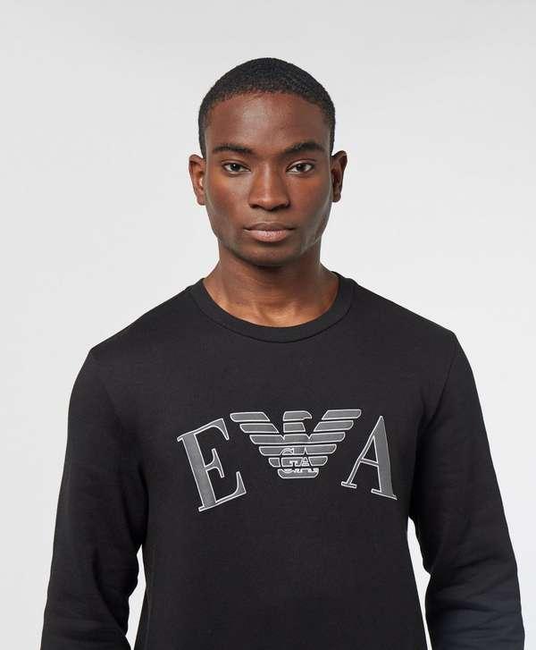 9b8bd54dfc Emporio Armani Embossed Logo Sweatshirt | scotts Menswear