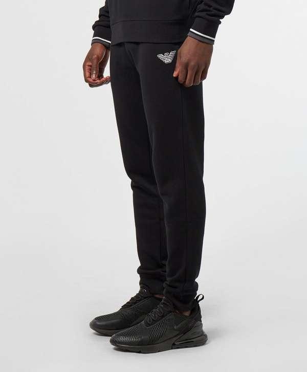 Emporio Armani Embossed Logo Fleece Pants