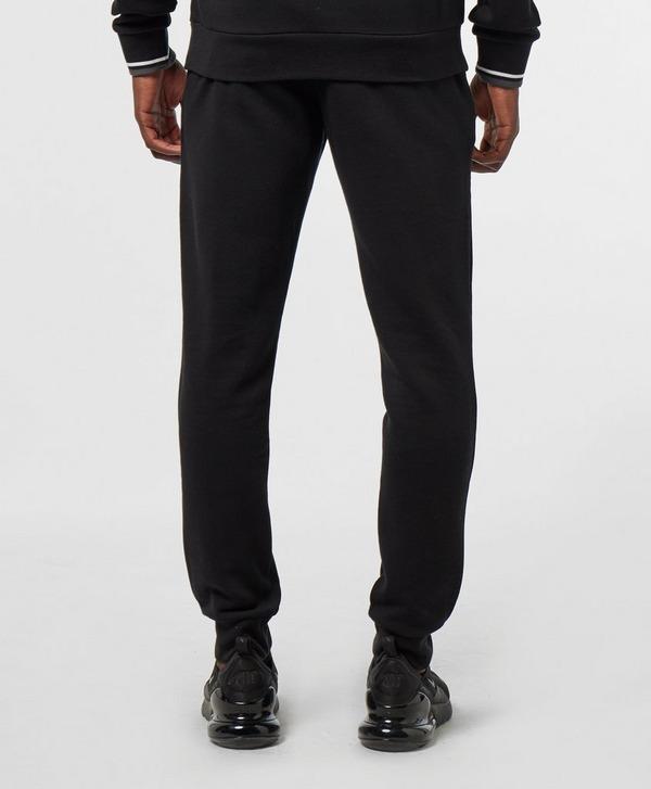 Emporio Armani Loungewear Embossed Logo Fleece Pants