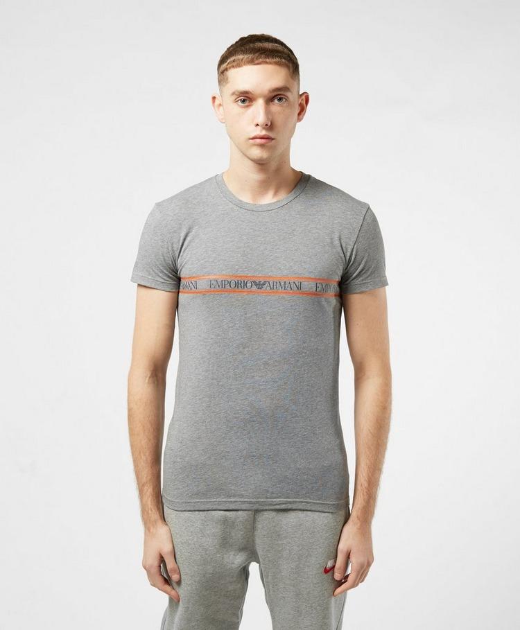 Emporio Armani Loungewear Band Crew Short Sleeve T-Shirt