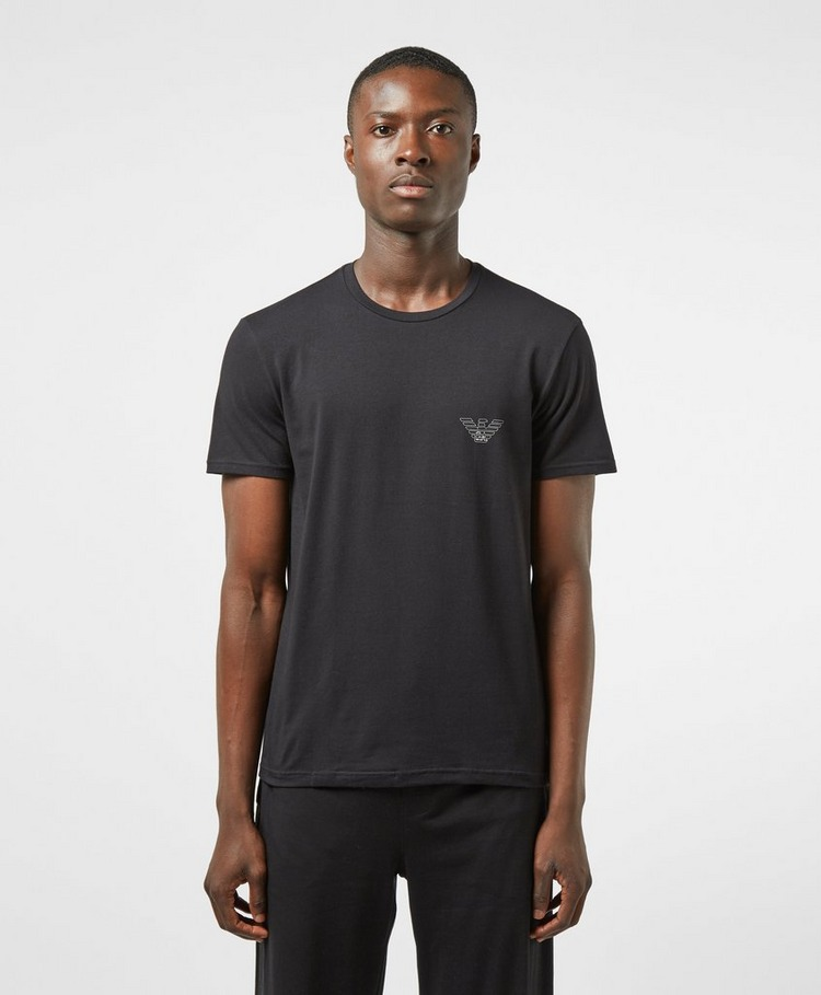 Emporio Armani Small Outline Eagle Short Sleeve T-Shirt