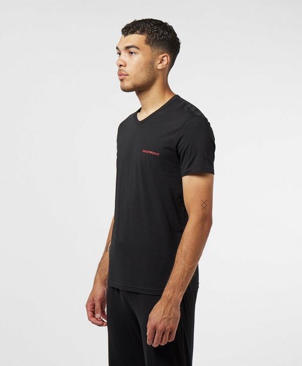 Emporio Armani Loungewear 2-Pack Regular Short Sleeve T-Shirt