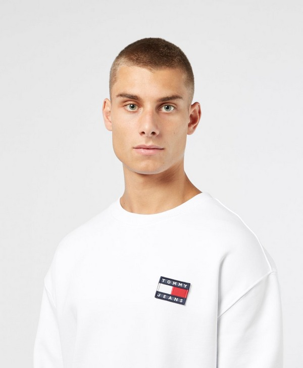 Tommy Jeans Heavyweight Knit Badge Crew Sweatshirt