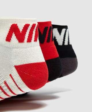 Nike 3-Pack Logo Liner Socks