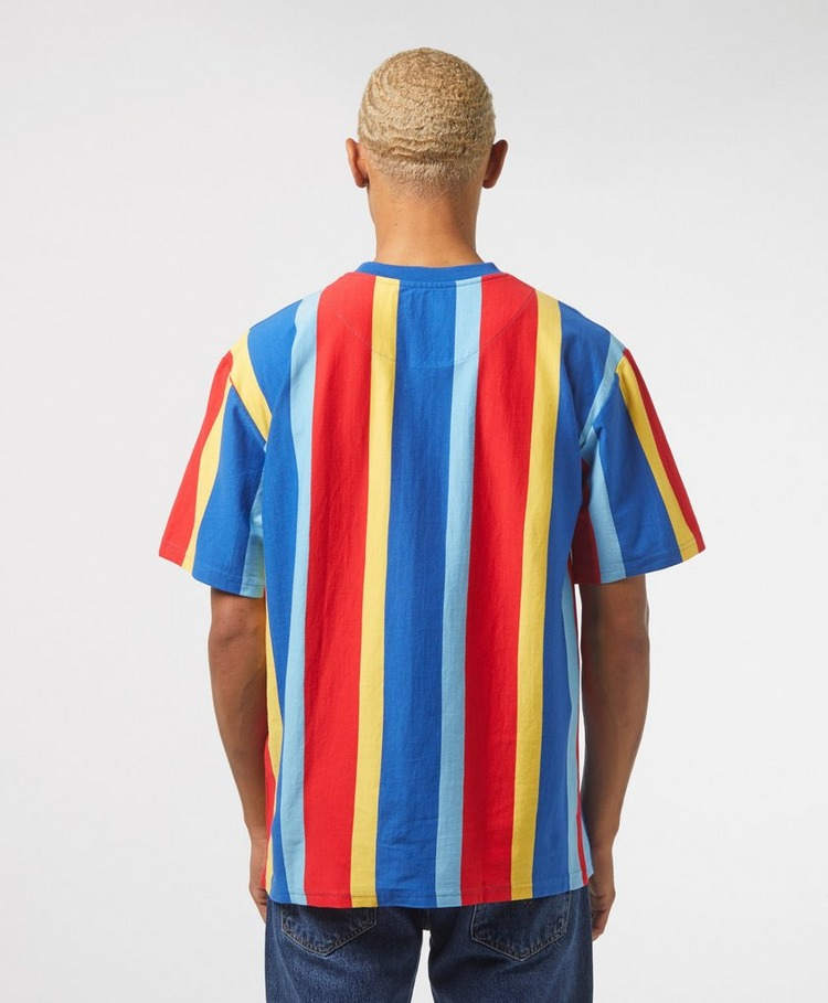 Karl Kani Vertical Stripe Short Sleeve T-Shirt