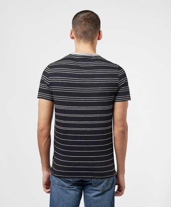 Guess Simon Stripe Short Sleeve T-Shirt