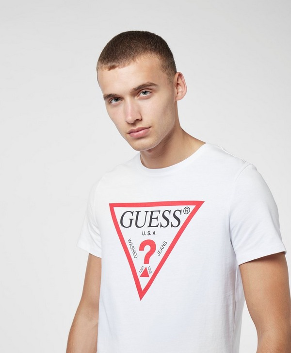 Guess Core Logo Short Sleeve T-Shirt