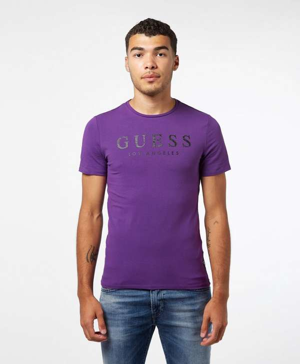 Guess LA Logo Short Sleeve T-Shirt