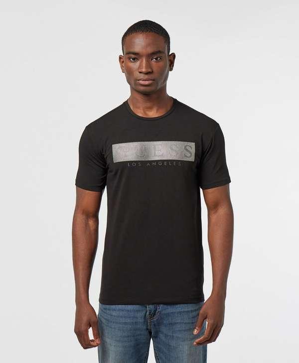 Guess Mystery Logo Short Sleeve T-Shirt