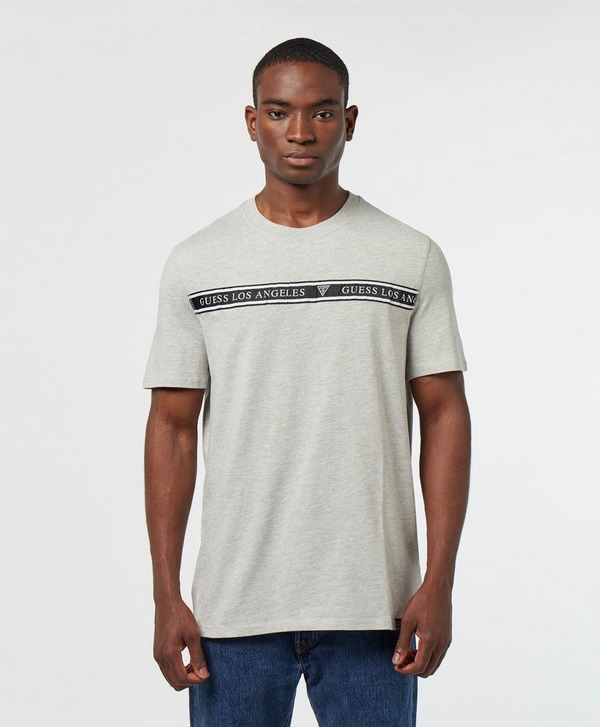 Guess Chest Tape Short Sleeve T-Shirt