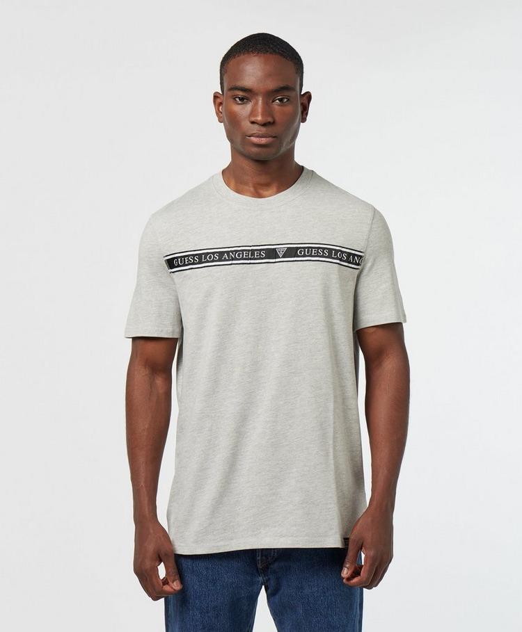 Guess Chest Tape Short Sleeve T-Shirt