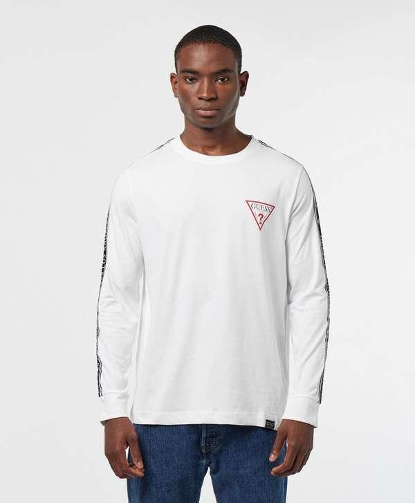 Guess Tape Long Sleeve T-Shirt