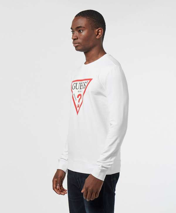 Guess Triangle Logo Sweatshirt