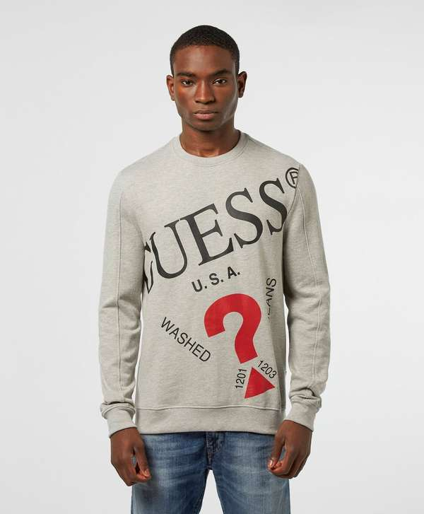 Guess Too Large Logo Sweatshirt