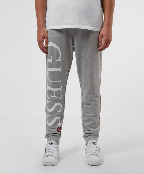 Guess Ike Logo Cuffed Fleece Pants