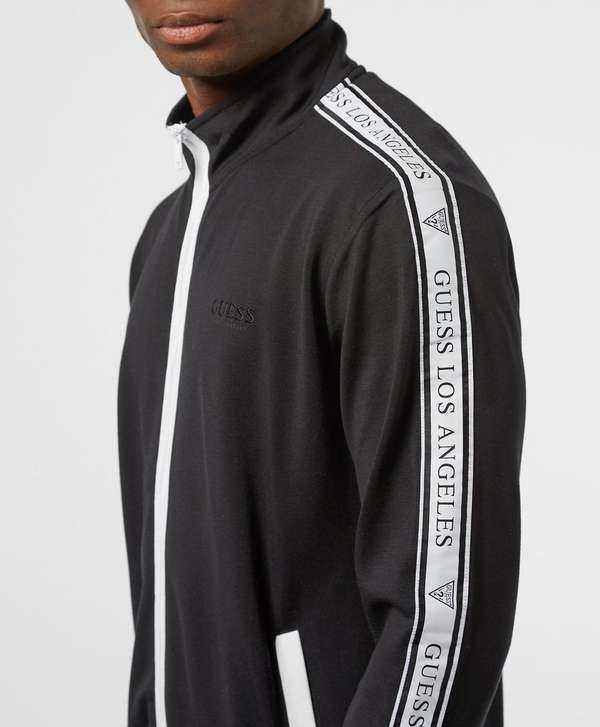 Guess Tape Full Zip Track Top
