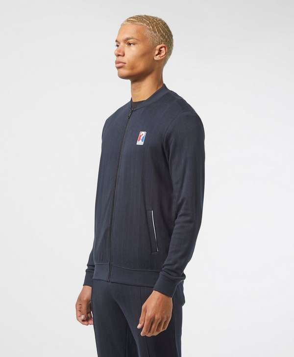 Guess Pinstripe Bomber Track Top