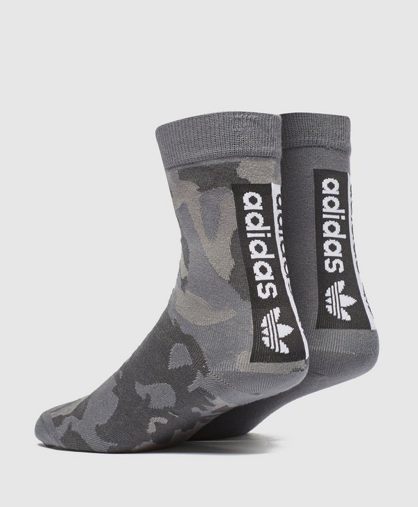adidas Originals 2-Pack Vocal Logo Socks