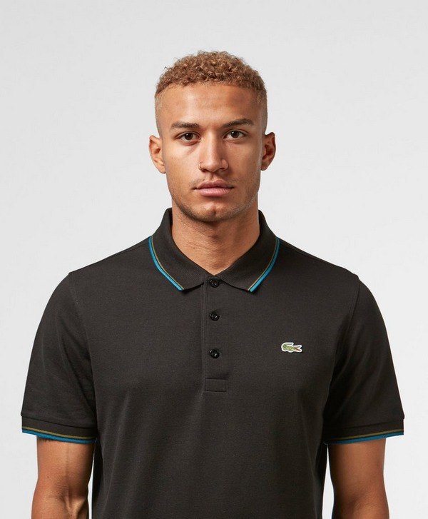 Lacoste Double Tip Short Sleeve Polo Shirt
