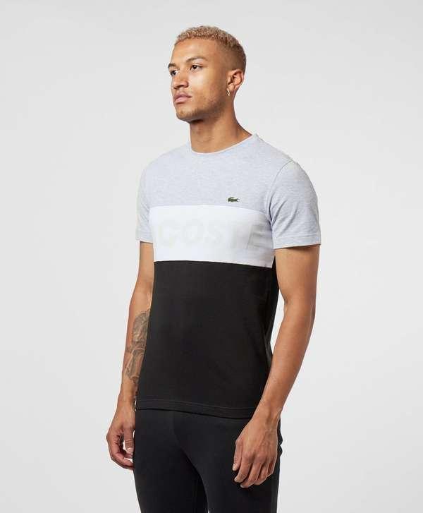 Lacoste Block Logo Short Sleeve T-Shirt