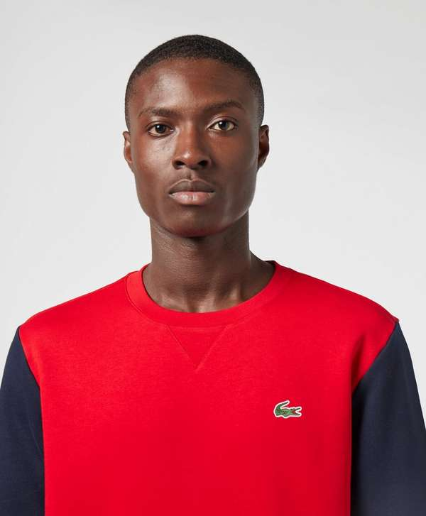 Lacoste Band Arm Crew Sweatshirt